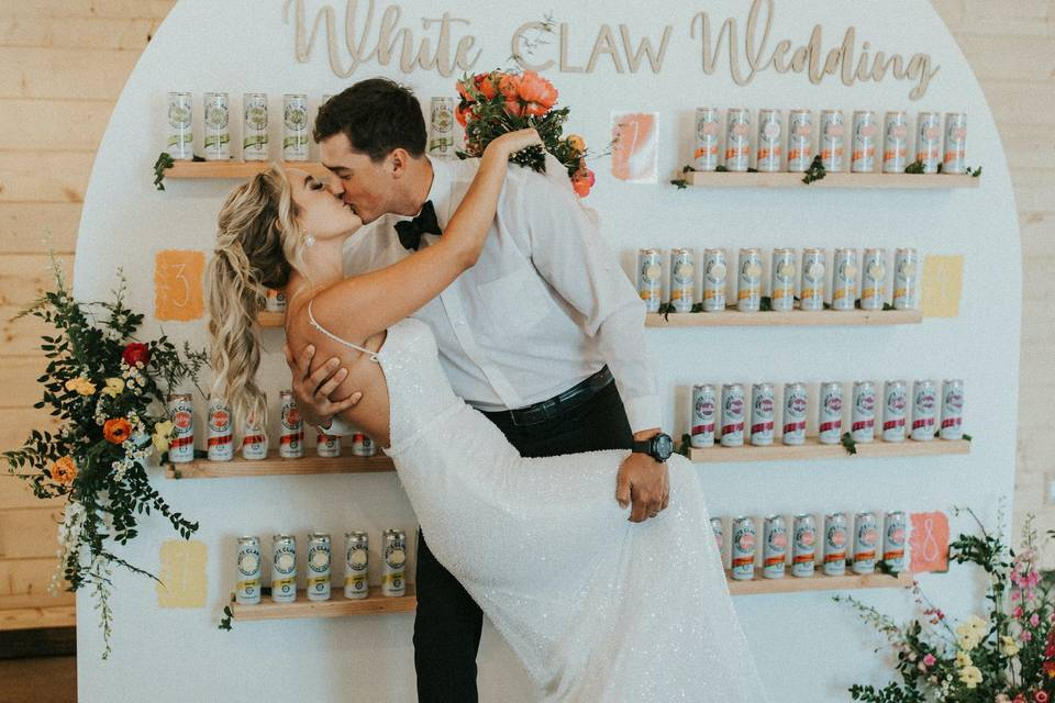 White Claw Wedding