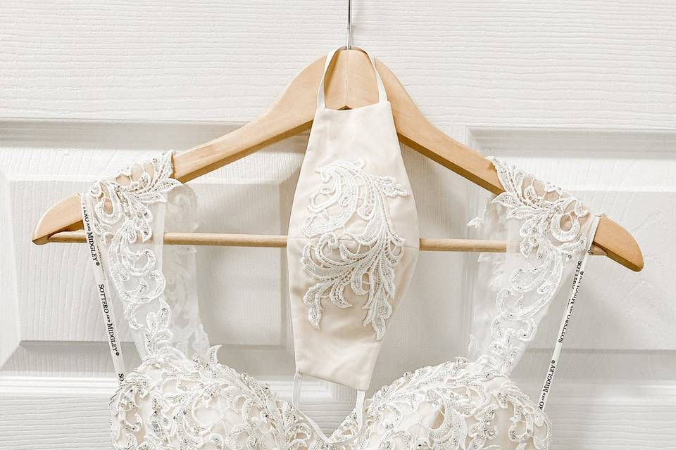 Custom Bridal Mask