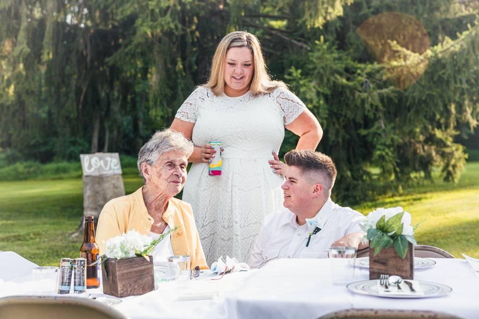 Small backyard wedding - Jarrid Roye Photography