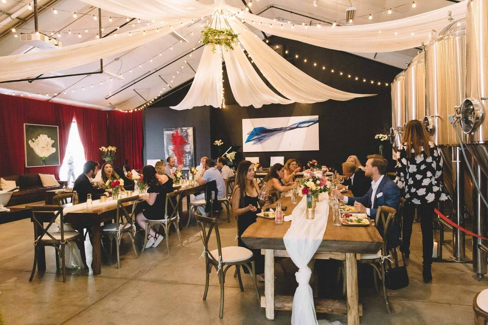 Dazzling event space