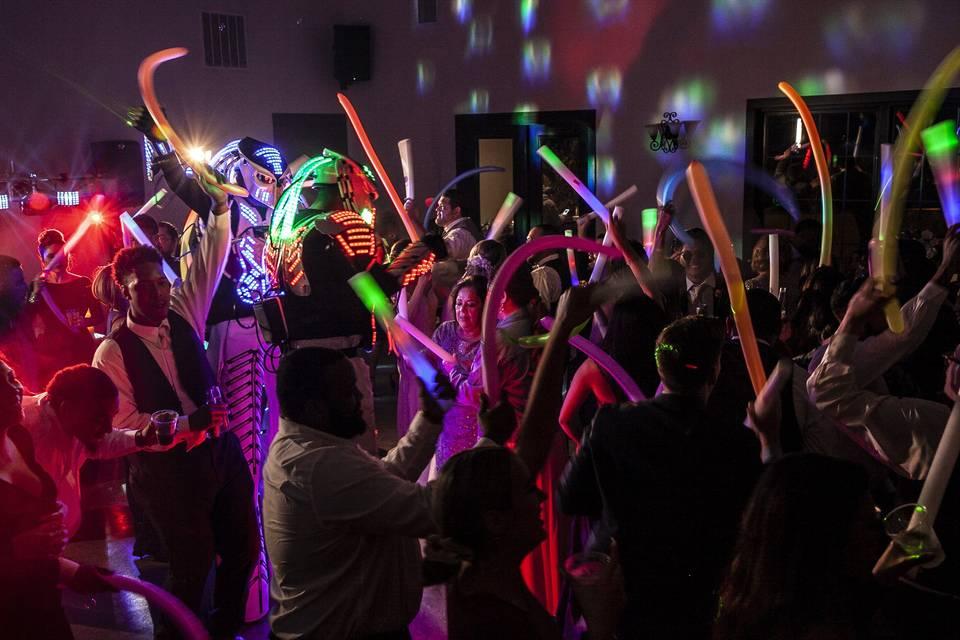 Dance floor fun!
