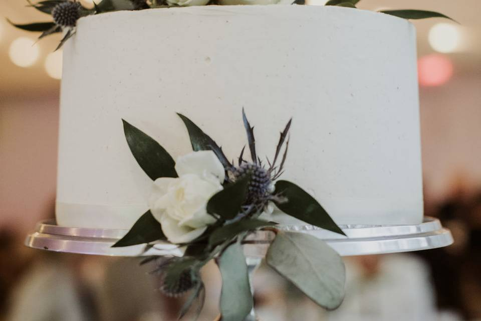 Wedding cake | YTK Photography