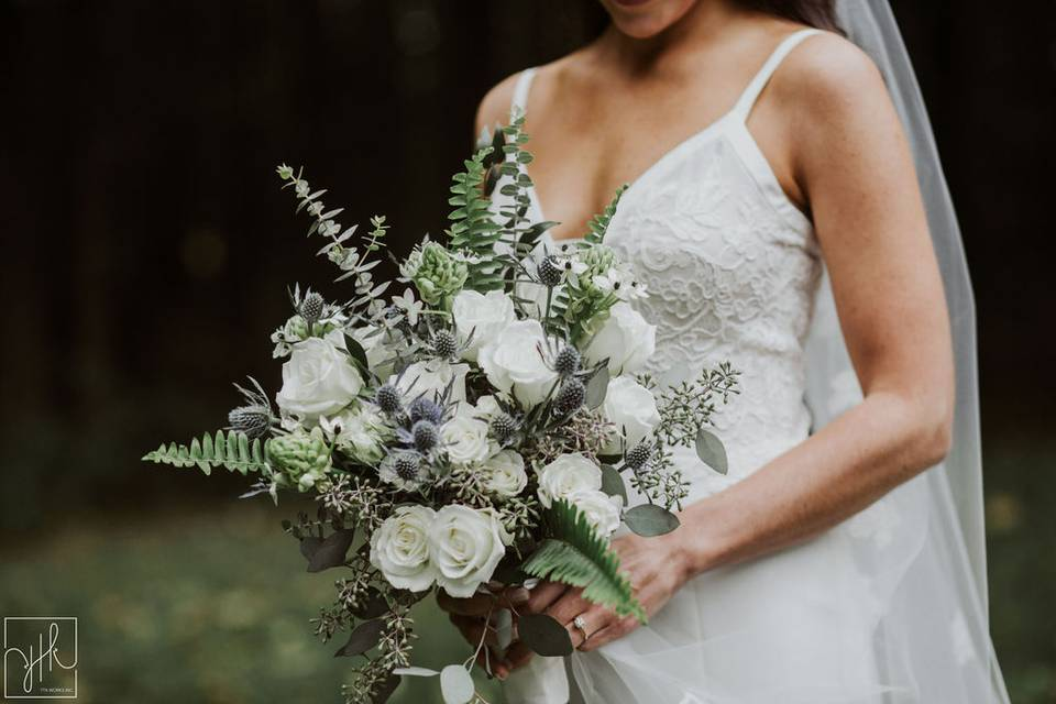 Bridal bouquet | YTK Photography