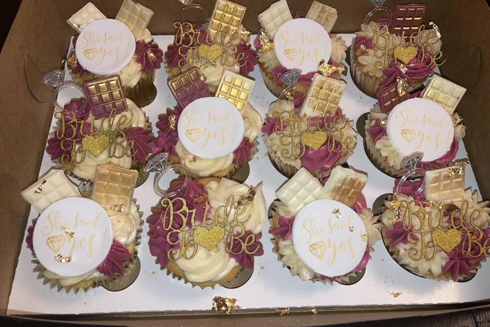 Bridal Shower Kupkakes