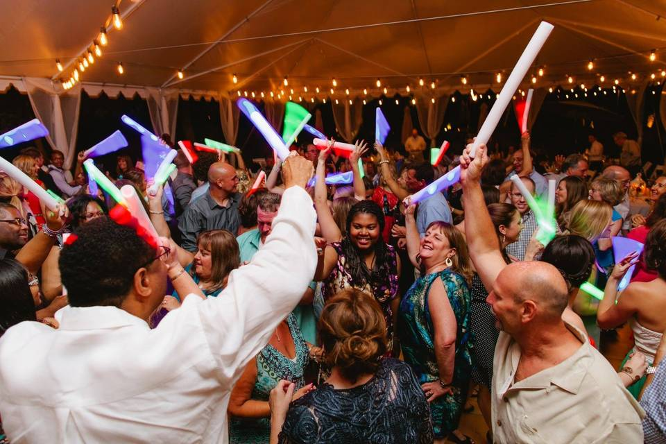 Dancing at the Rucker wedding