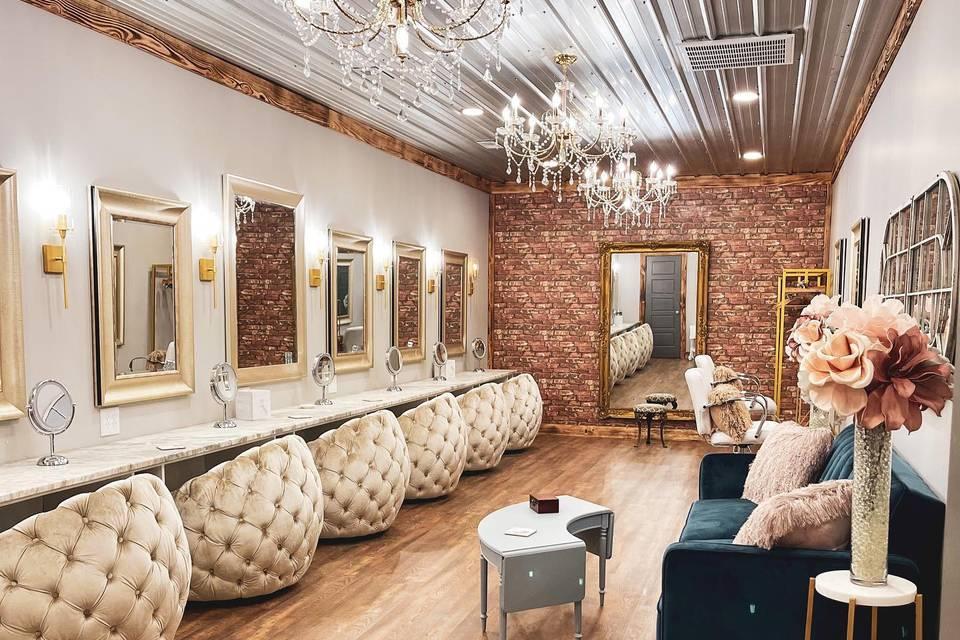 Gorgeous bridal suite