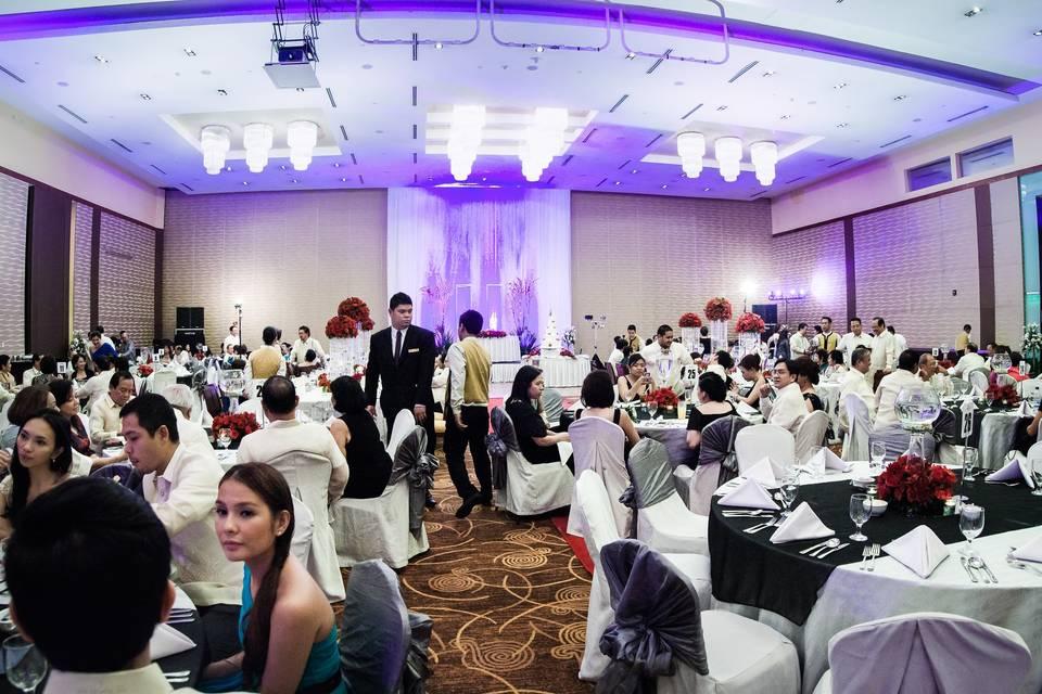 Wedding reception - Roland Lim Photography