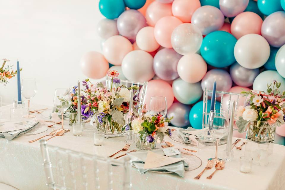 Holographic Styled Shoot