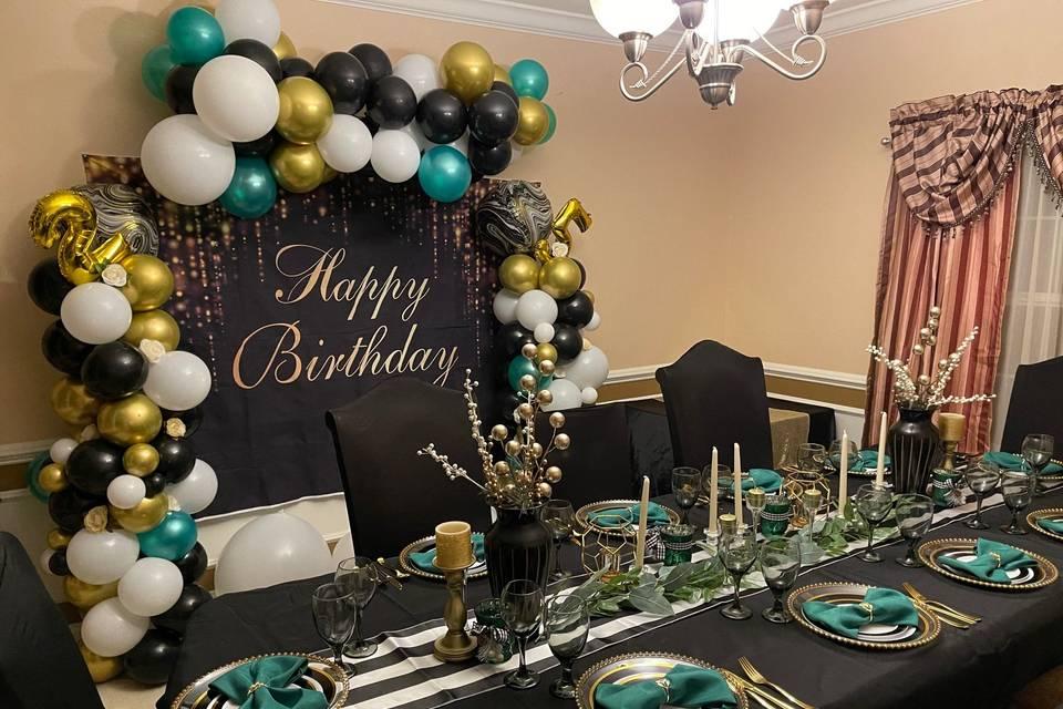 Private 25th Birthday Dinner