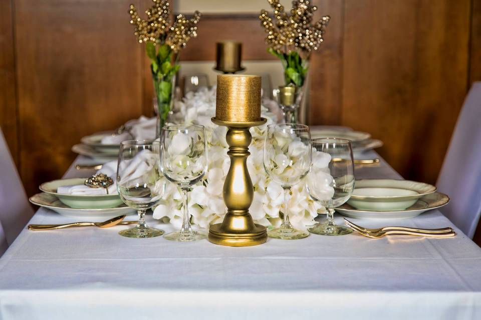 Stunning table centerpieces