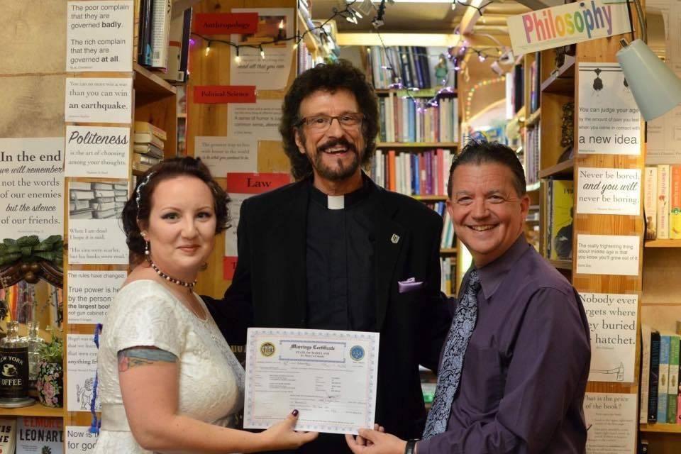 Creative Weddings of Southern Maryland-Joe Orlando, Reverend