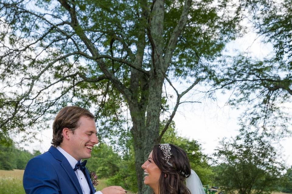 Sealing vows with a quaich