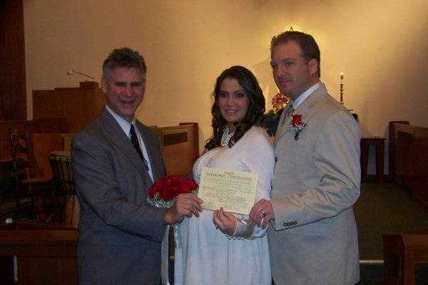 Rev. Tim Thomson  Officiant For Your Wedding