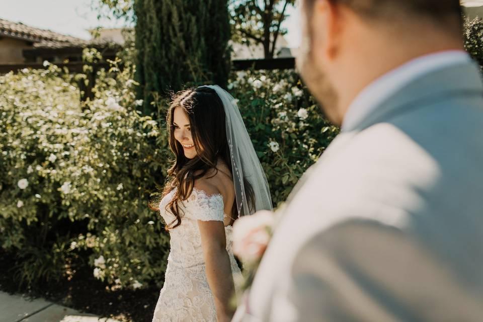 Beautiful Bride at Prelude