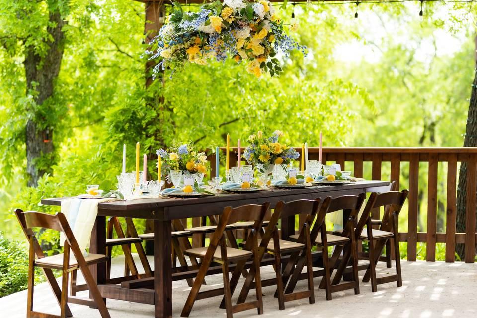 Custom Farm Tables