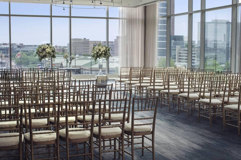 Ceremony - Watertable Ballroom