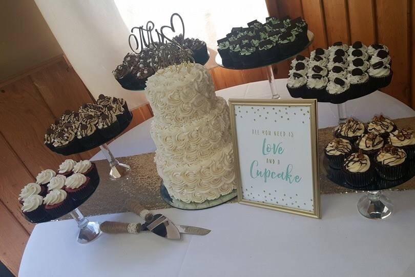 Rosettes & Gourmet Cupcakes