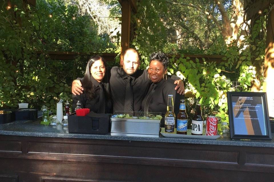 At Your Service Bartending
