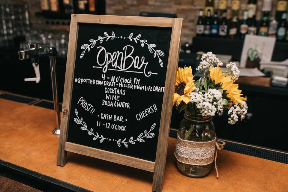 Venue Bar Services