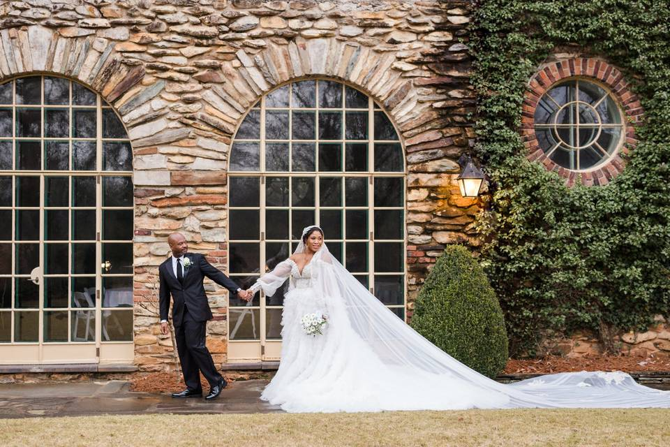 Graylyn Estate wedding photos