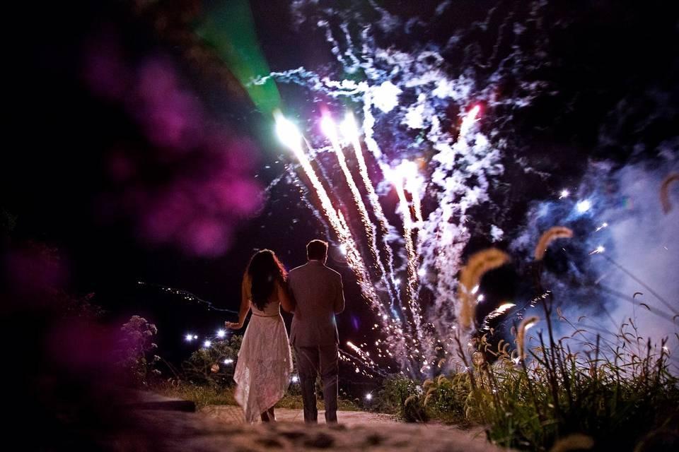 Custom fireworks