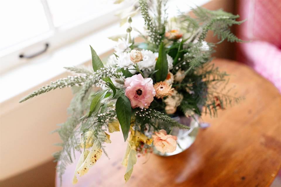 Bouquet in waiting