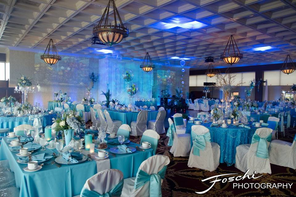 Aquatic Romance Wedding