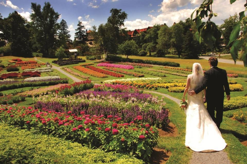 Victorian show gardens