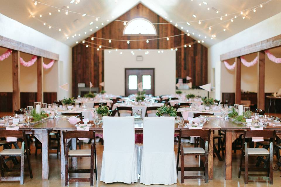 Beautiful reception venue