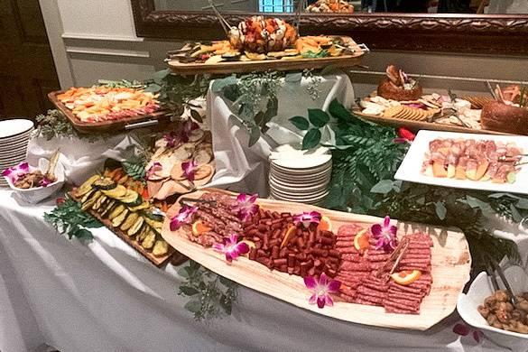 Traditional Antipasto Display