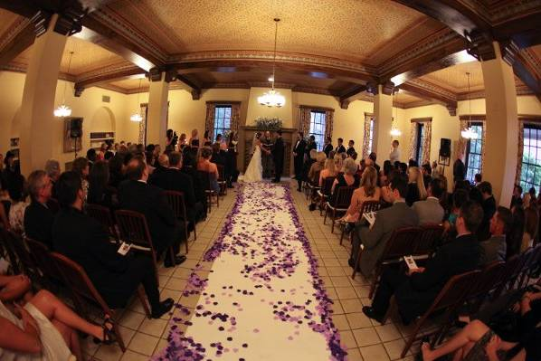 Great Room ceremony space