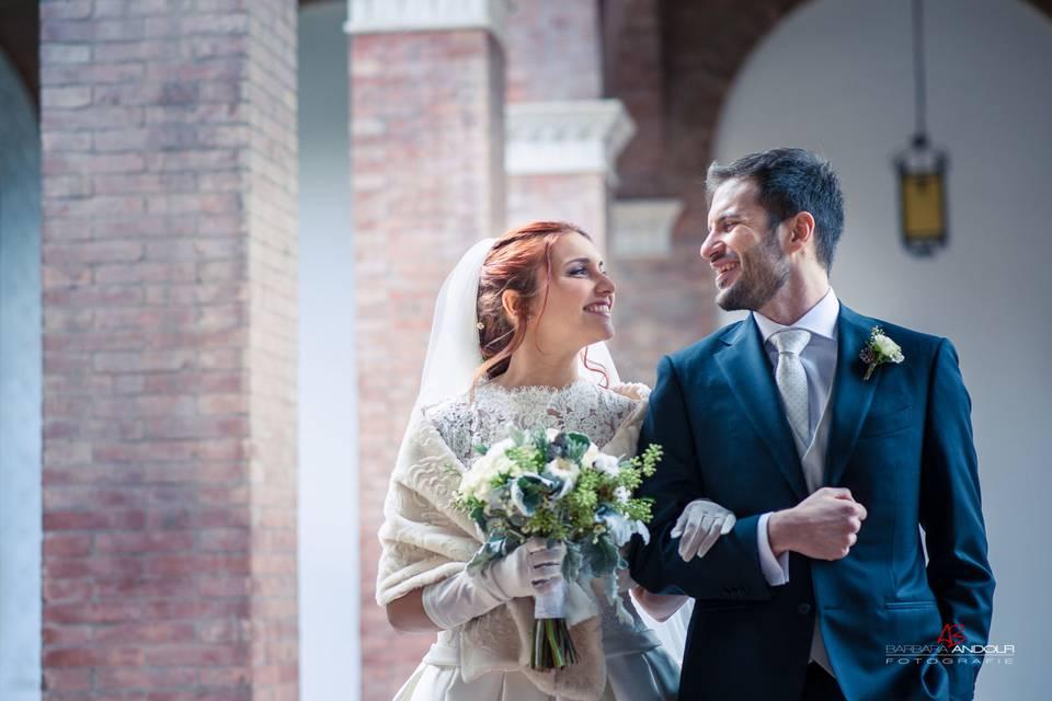 Wedding Day At San Anselmo Rome