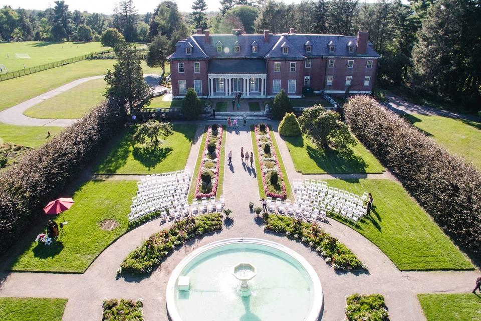 The italianate garden & manor house - douglasolyons