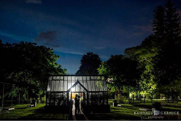 The hartley botanic victorian loge in the trial garden - randall garnick photography