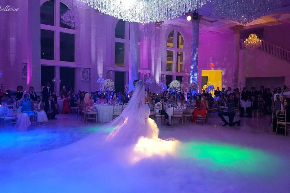 Special effects for weddings and events