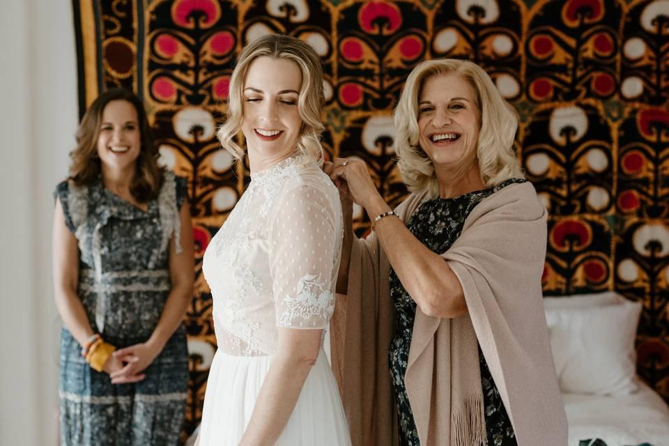 Marfa, Texas wedding