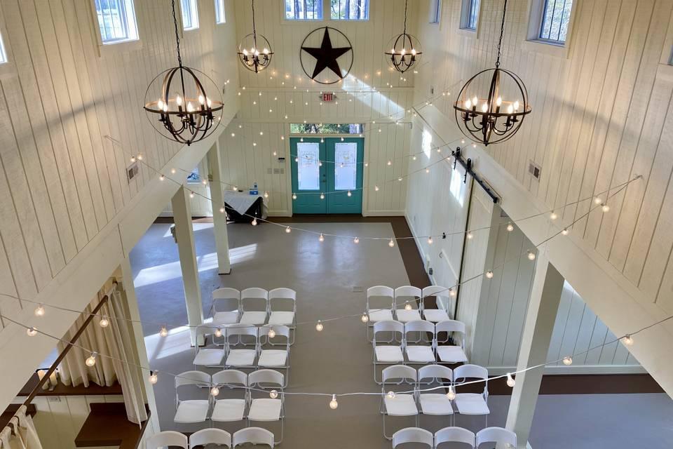 Venue Hall interior