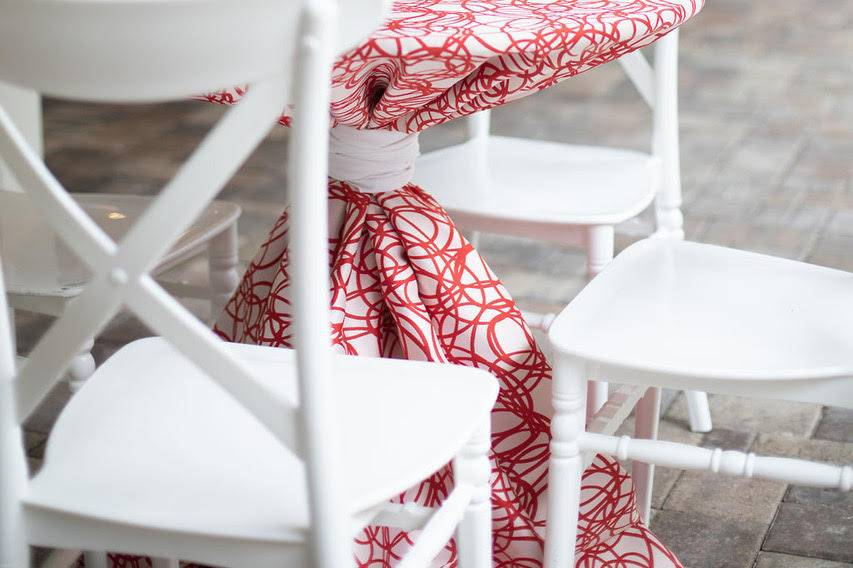 White French Country Chairs