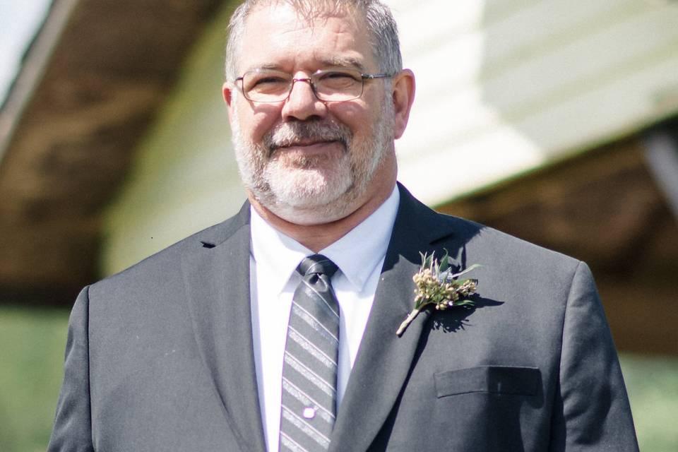 Todd A. Gray, Wedding Officiant