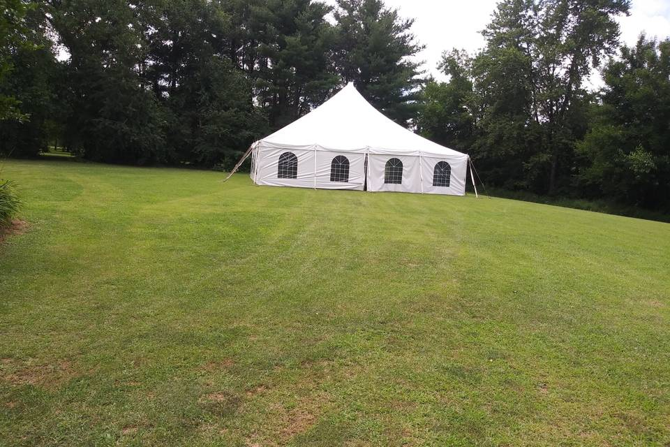 Tent With Window Sidewall