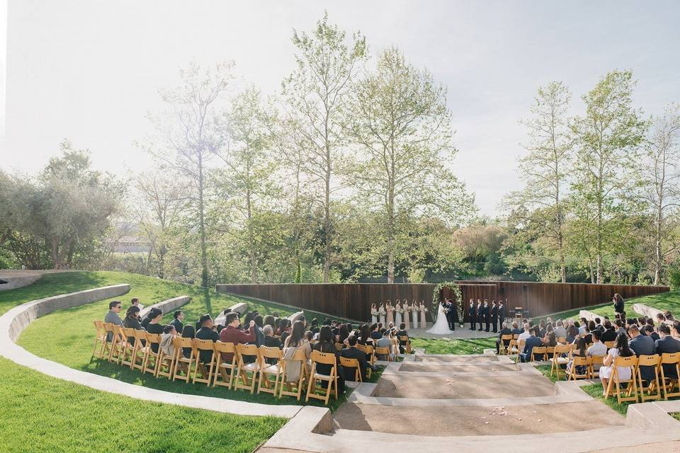 Ceremony at the amphitheater