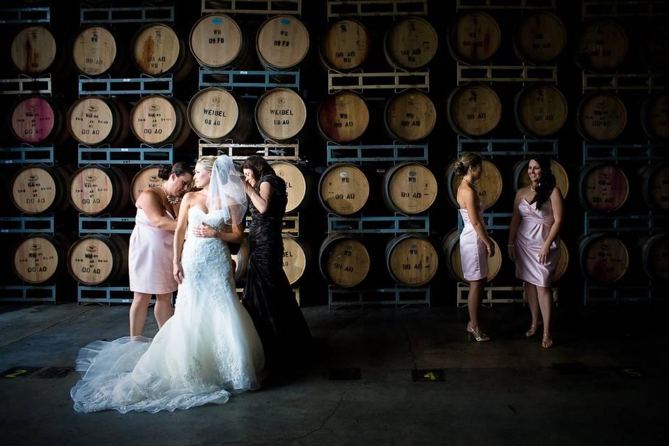 Mendocino Bridal Party