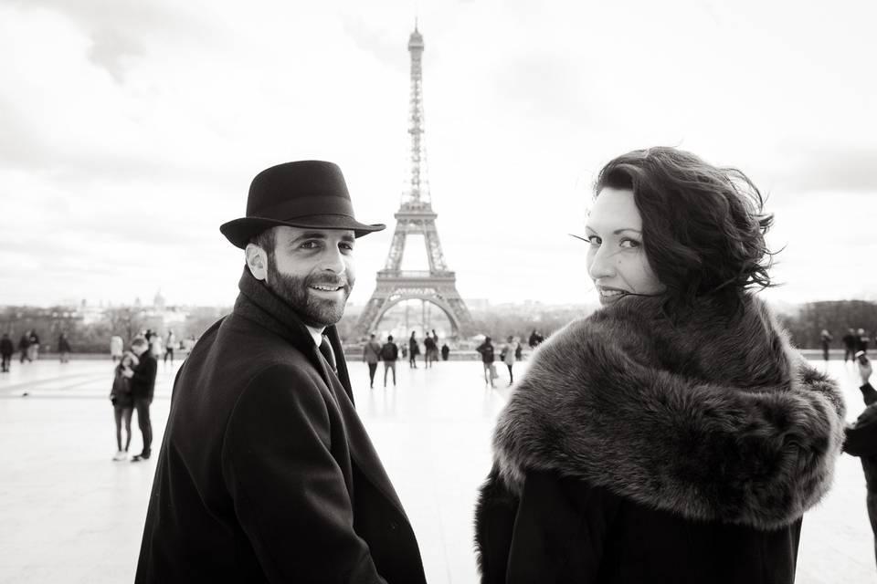 Paris Wedding Eiffel Tower