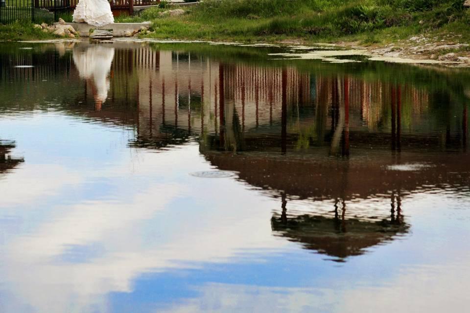Gazebo and Pond