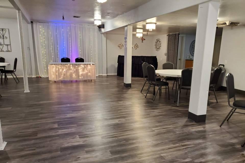 Onyx room 50 person