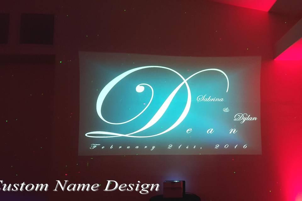 Custom Name Design