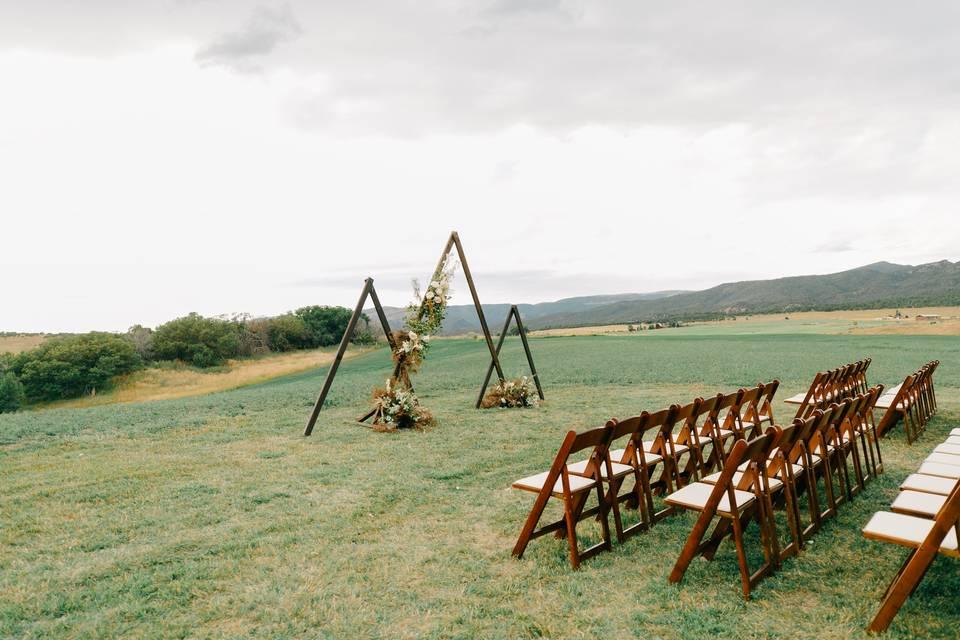 VVE's field ceremony location