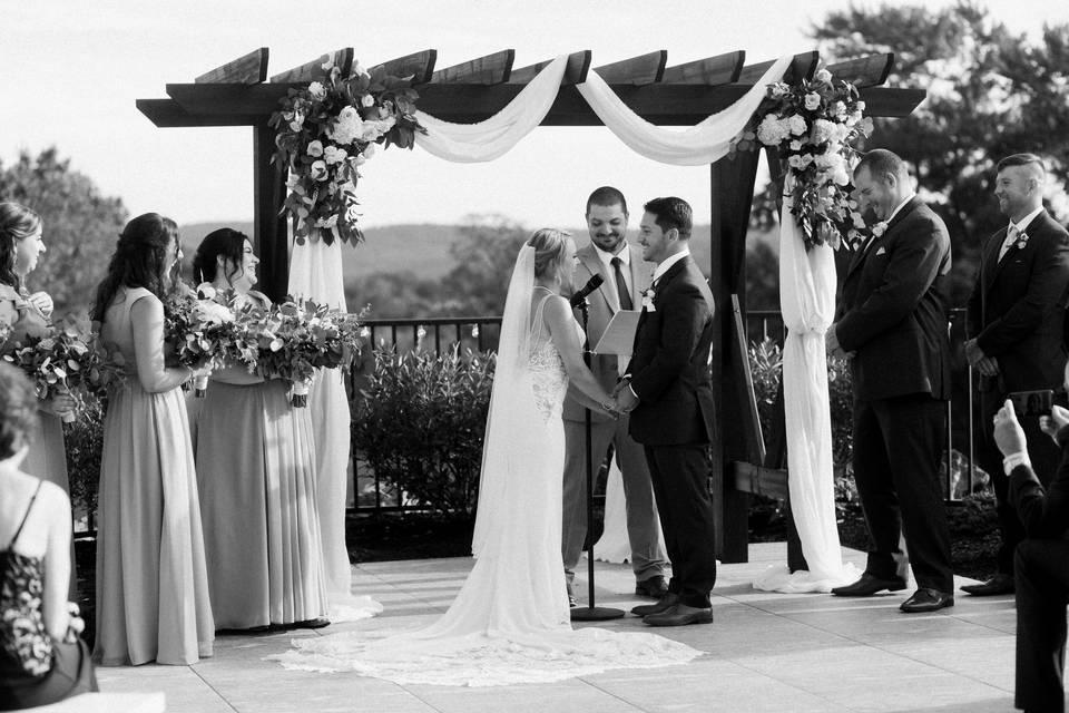 Wedding Ceremony Arbor