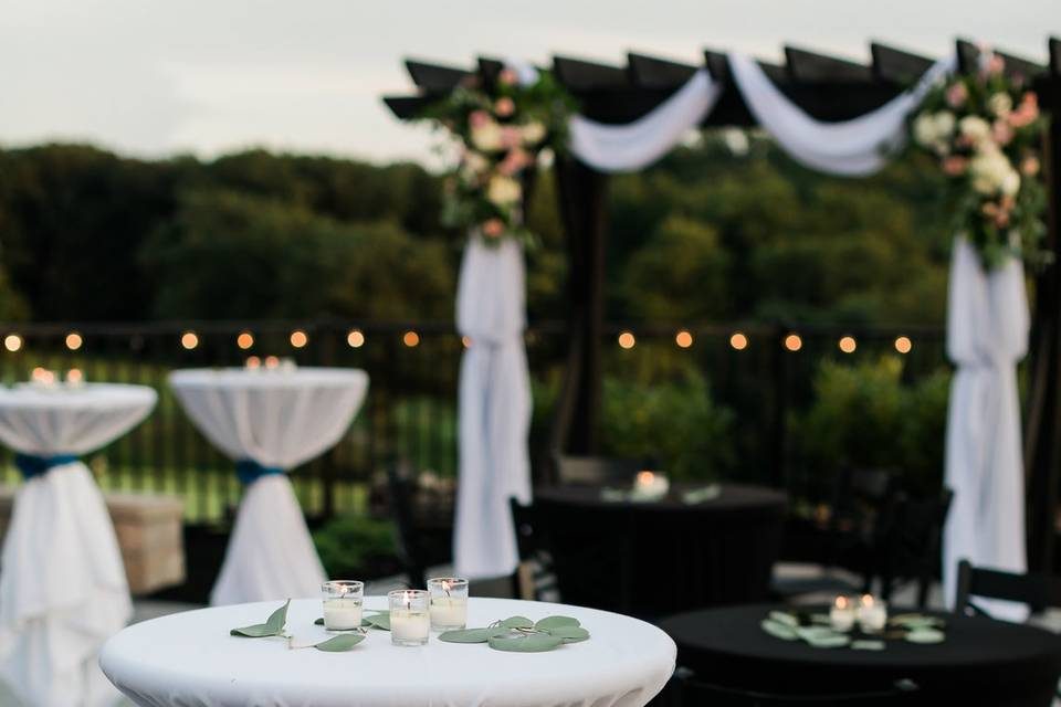 Outdoor Patio Event Space