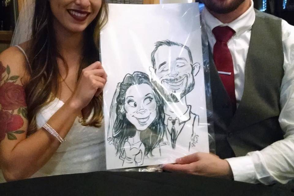 Caricatures by Jonny